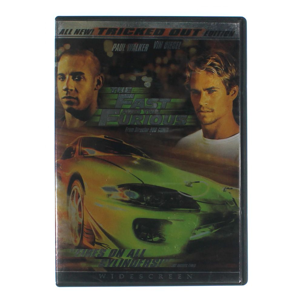 Movie: The Fast and the Furious (Widescreen Tricked Out Edition) 7161512301
