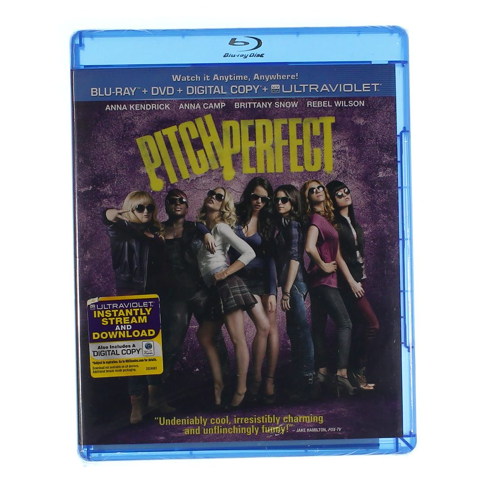 Movie: Pitch Perfect [Blu Ray + DVD+ Digital Copy+Ultraviolet] [Blu-ray] 7168995650