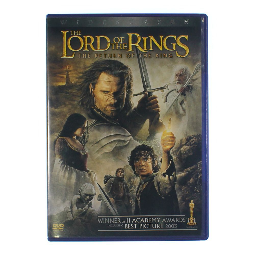 Movie: The Lord of the Rings: The Return of the King (Blu-ray Disc) 2003 7175484592