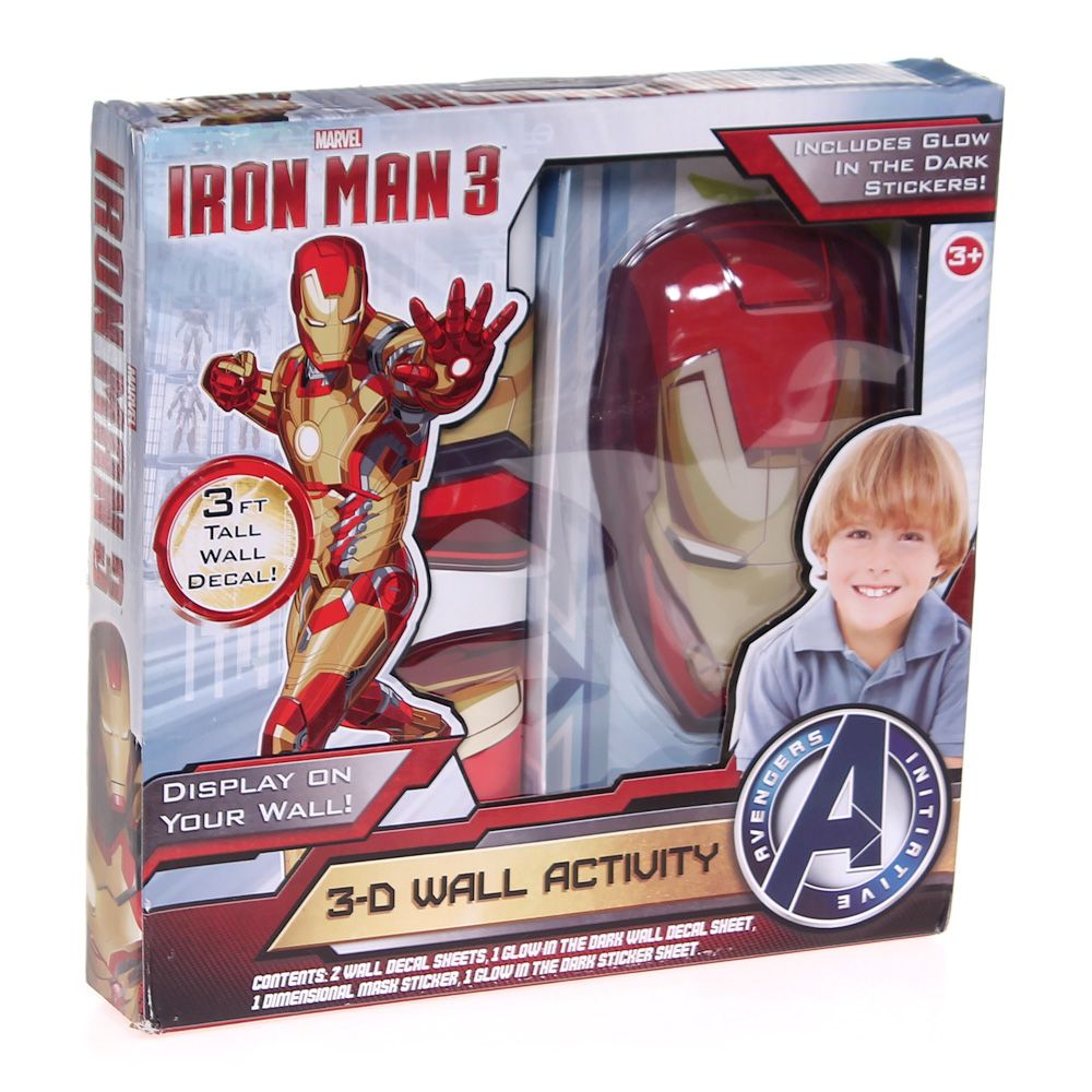 Iron Man Three 3-D Wall Activity 7200084141