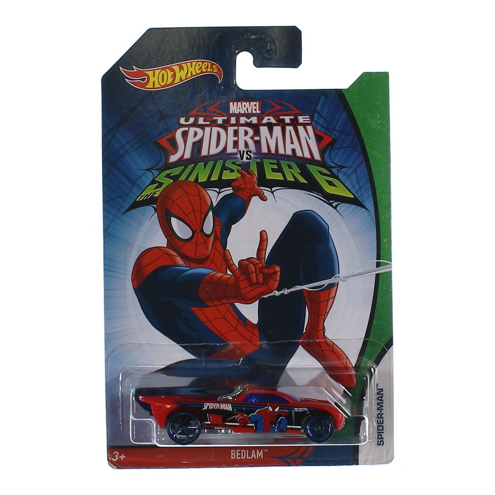 Hot Wheels Spider Man 7216723676