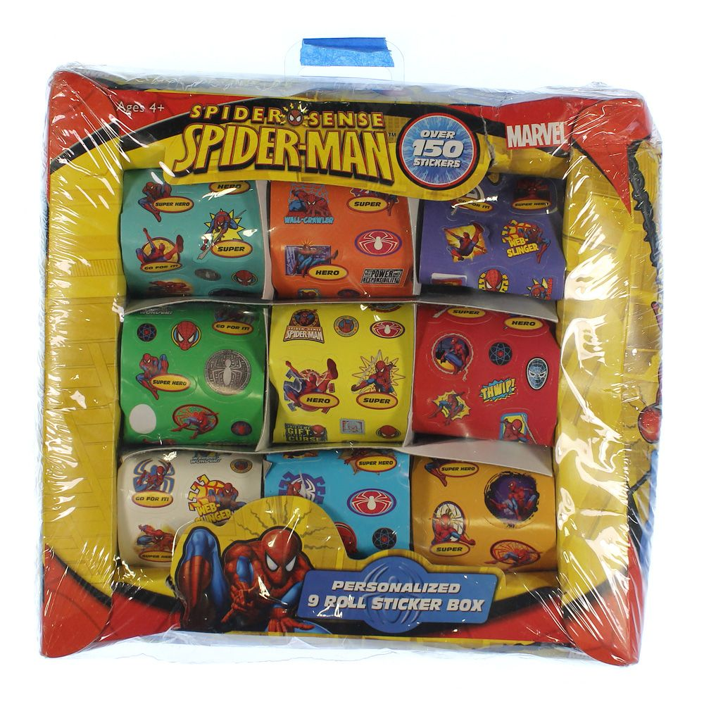 Spider Sense Spider Man Sticker Box 7231446927