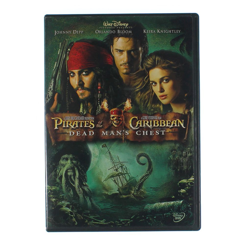 DVD: Pirates Of The Caribbean(Dead Man's Chest) 7278189616