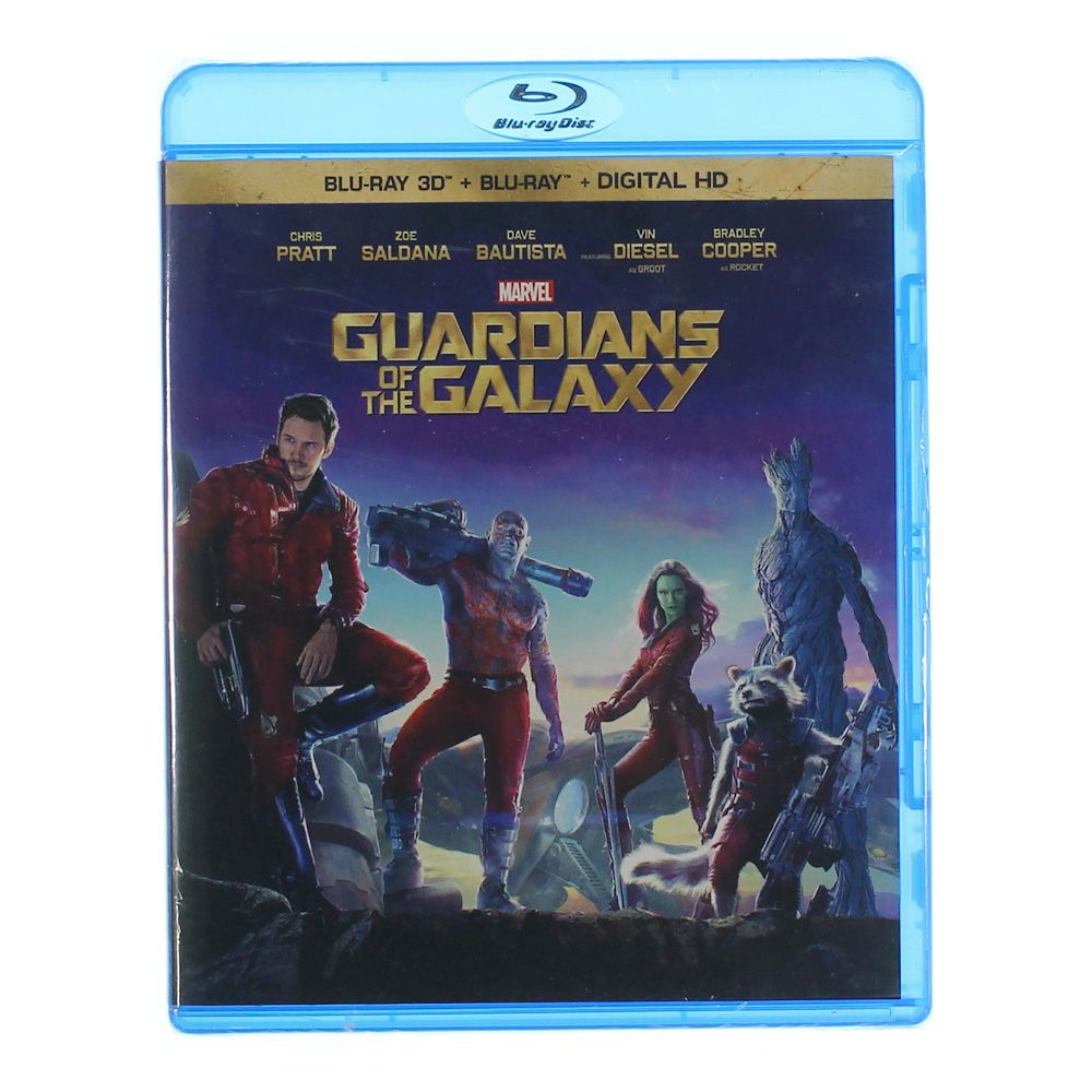 Movie: Guardians of the Galaxy (2014) Blu-Ray 7287815963