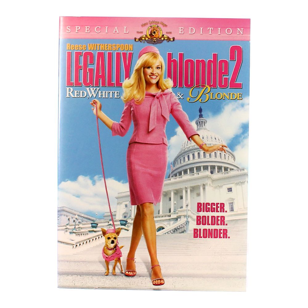 """""Movie: Legally Blonde 2 Red, White & Blonde"""""" 728794012"