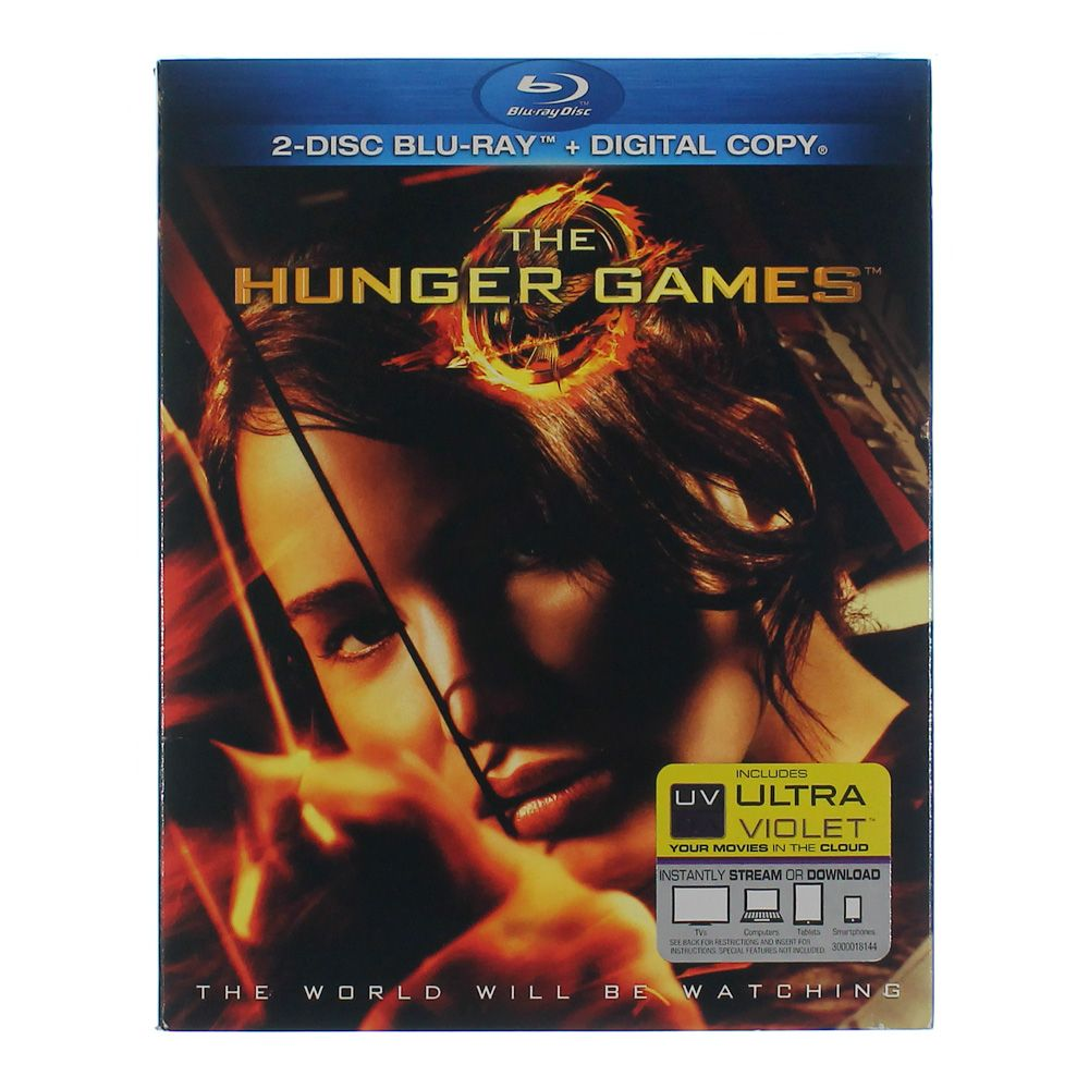 Movie: The Hunger Games (Blu-ray + Digital Copy) 7290661962