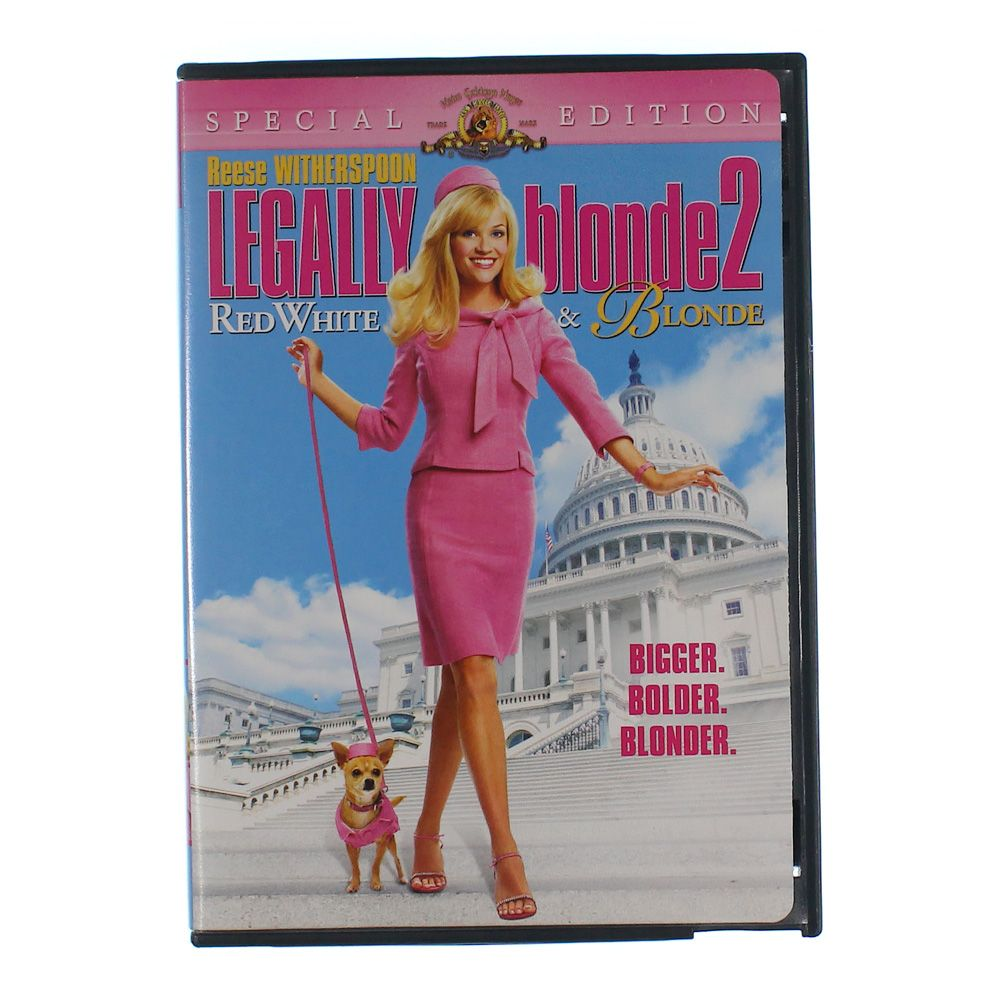 """""Movie: Legally Blonde 2 - Red, White & Blonde (Special Edition)"""""" 7291544419"