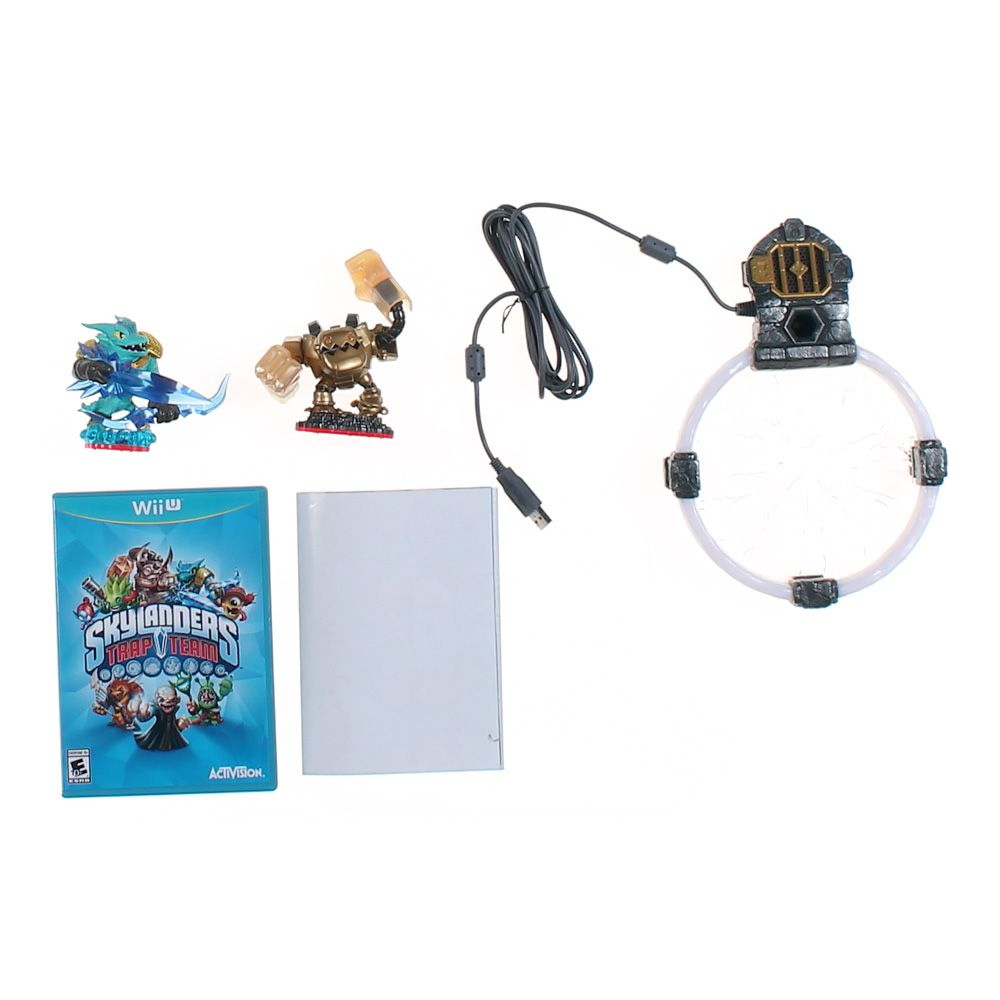 """""Skylanders Trap Team Game, Base & Figures"""""" 7291685944"