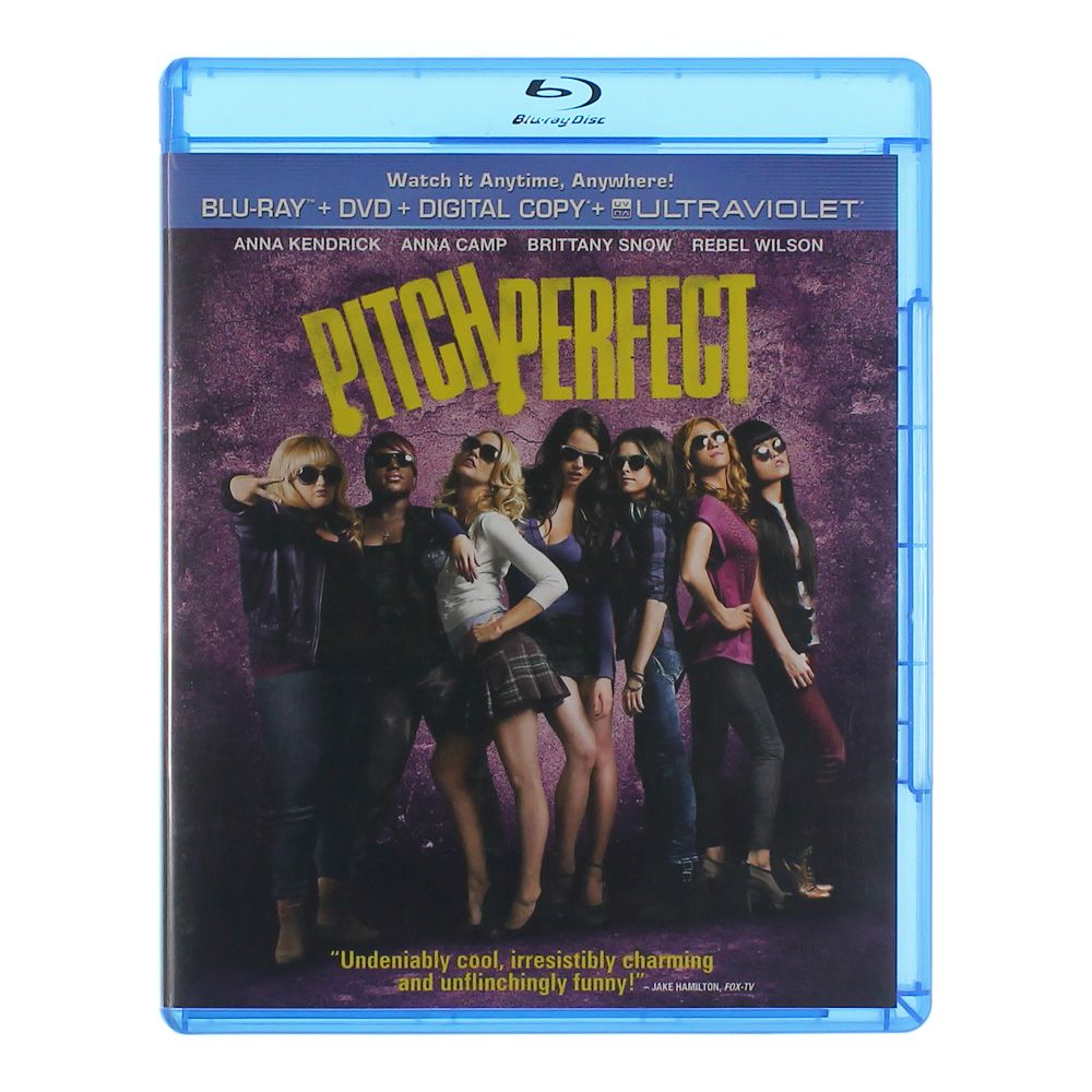 Movie: Pitch Perfect [Blu Ray + DVD+ Digital Copy+Ultraviolet] [Blu-ray] 7297393972