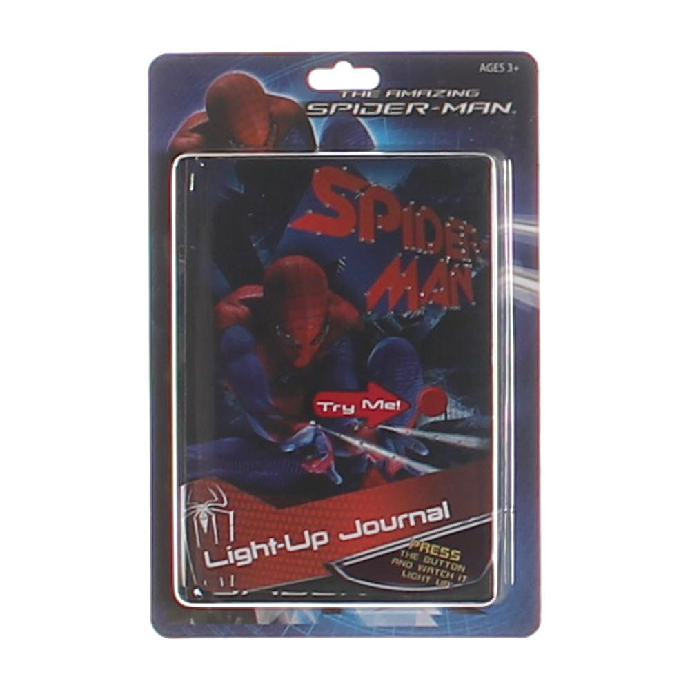 Spiderman Light-Up Journal 7304497119