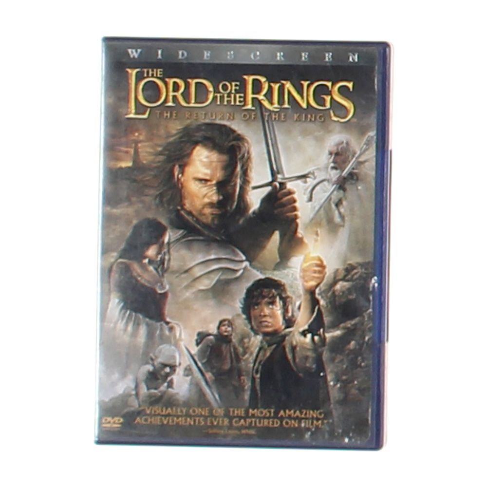 Movie: The Lord of the Rings: The Return of the King (Blu-ray Disc) 2003 7315410090