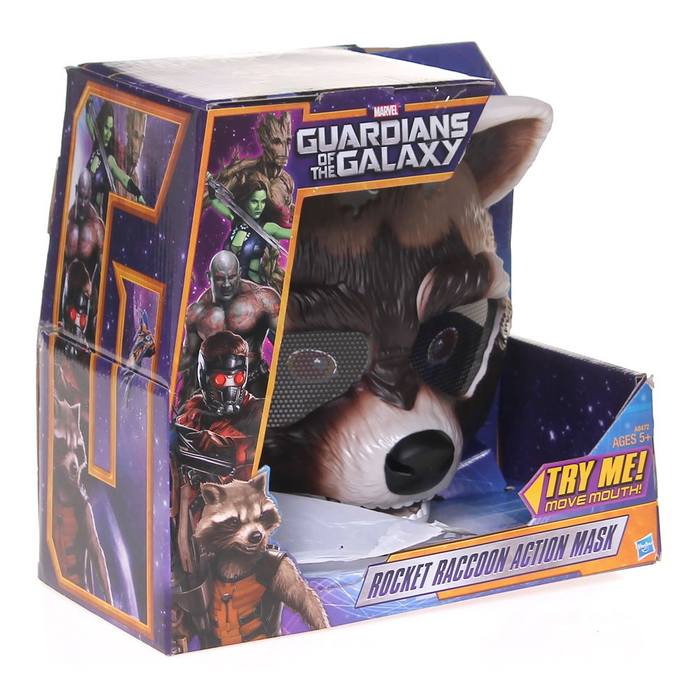 Marvel Guardians of The Galaxy Rocket Raccoon Action Mask 7316951789