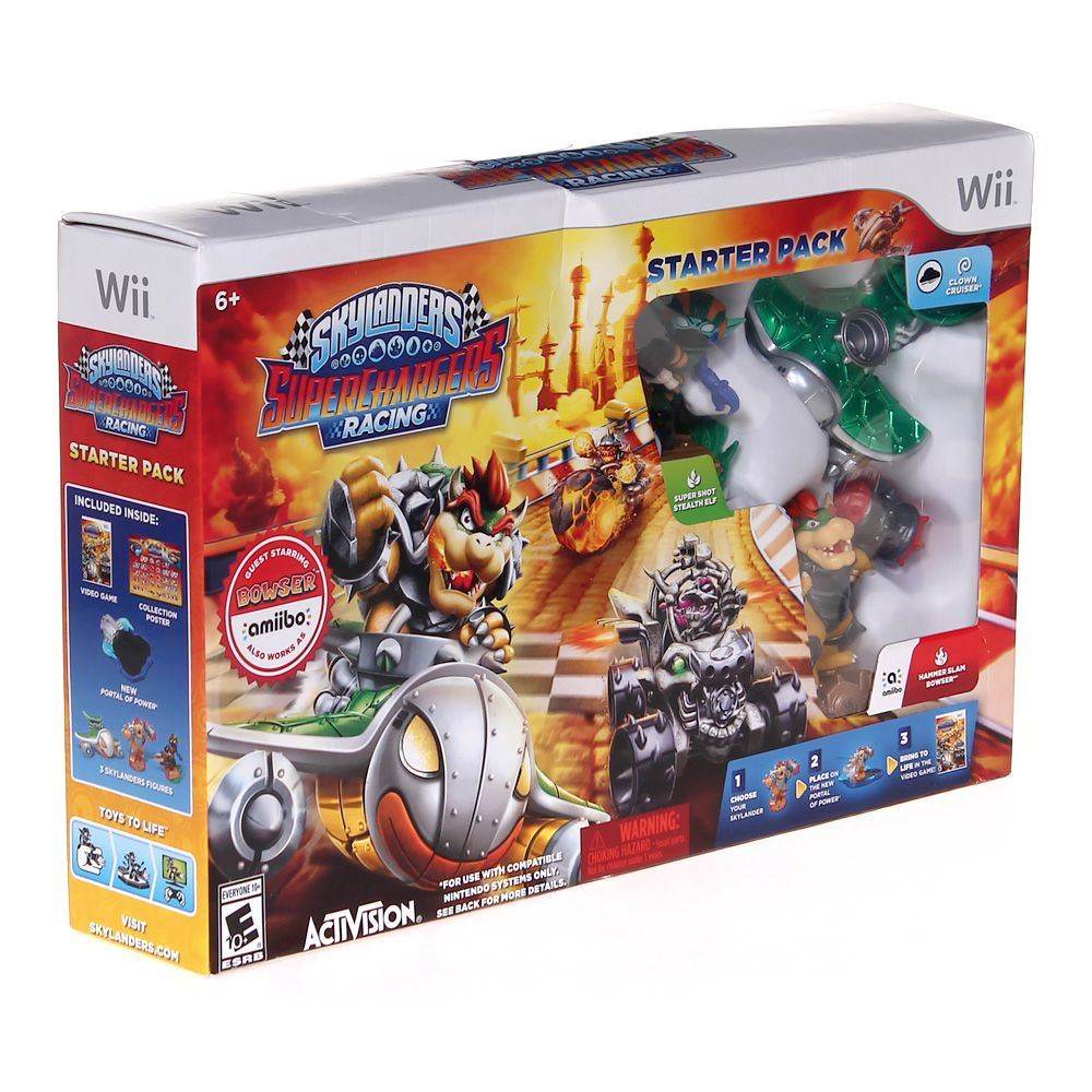Video Game: Skylanders SuperChargers Racing Starter Pack 7321108607