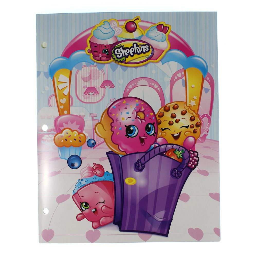 Image of Shopkins Folder