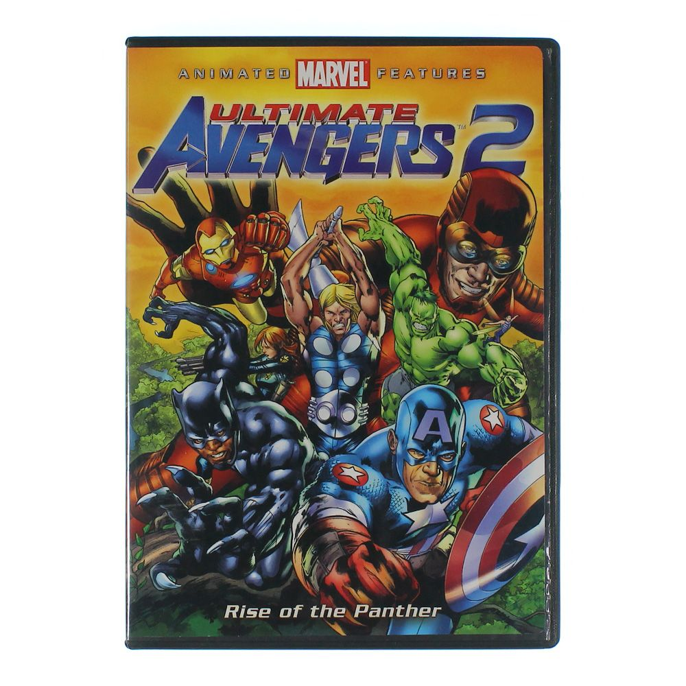Movie: Ultimate Avengers 2: Rise of the Panther 7326808579