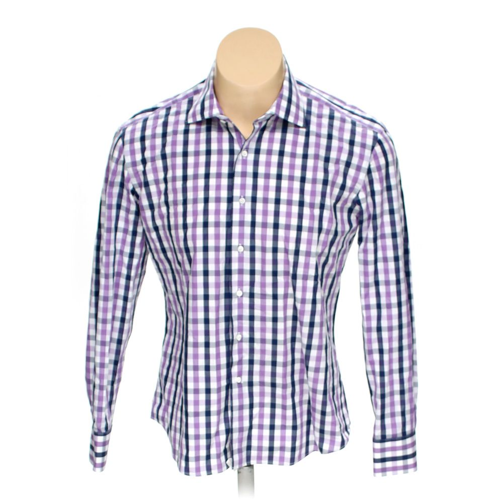 """""Button-up Long Sleeve Shirt, size 46"""""""" Chest"""""" 7335570412"