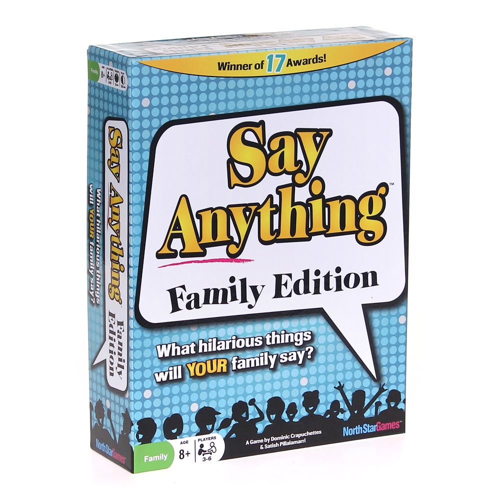 Game: Say Anything Family edition 7348375075