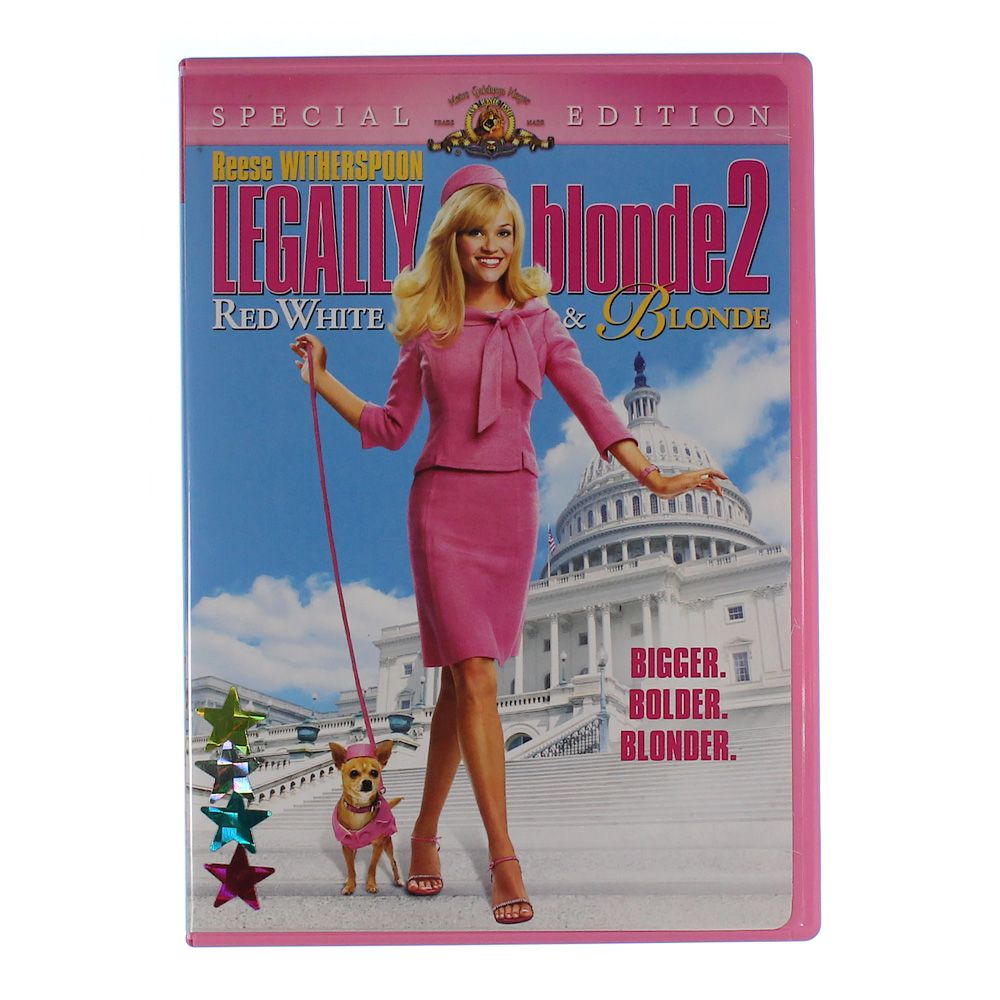 """""Movie: Legally Blonde 2 - Red, White & Blonde"""""" 7355282800"