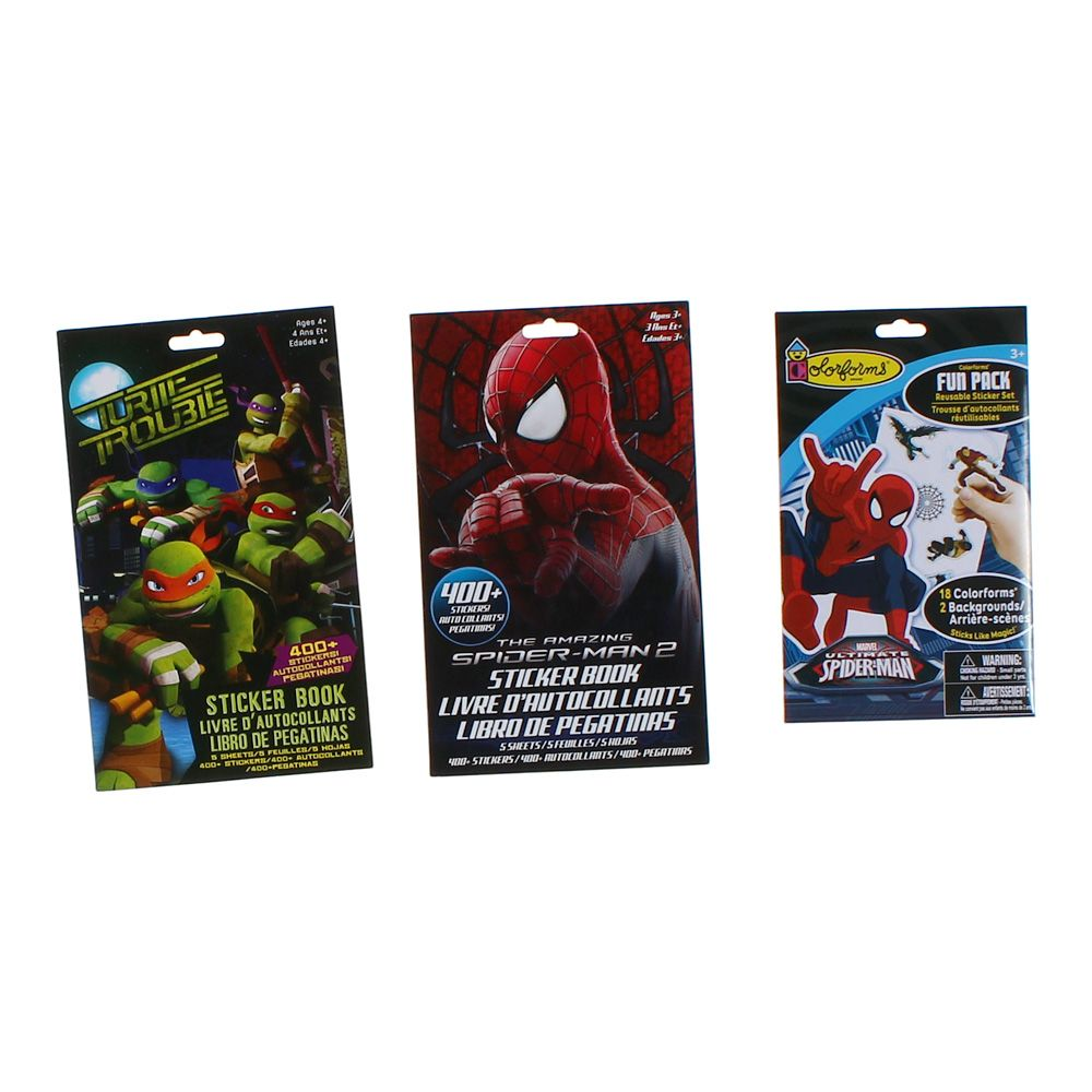 Super Hero Sticker Books Set 7360055203