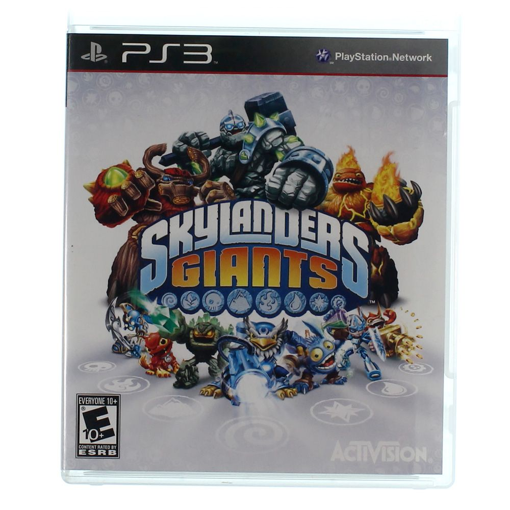 Video Game: Skylanders Giants 7362385408
