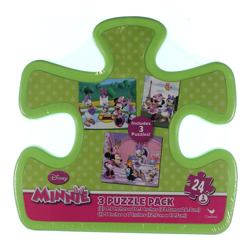 Minnie 3 Puzzle Pack 7377009933