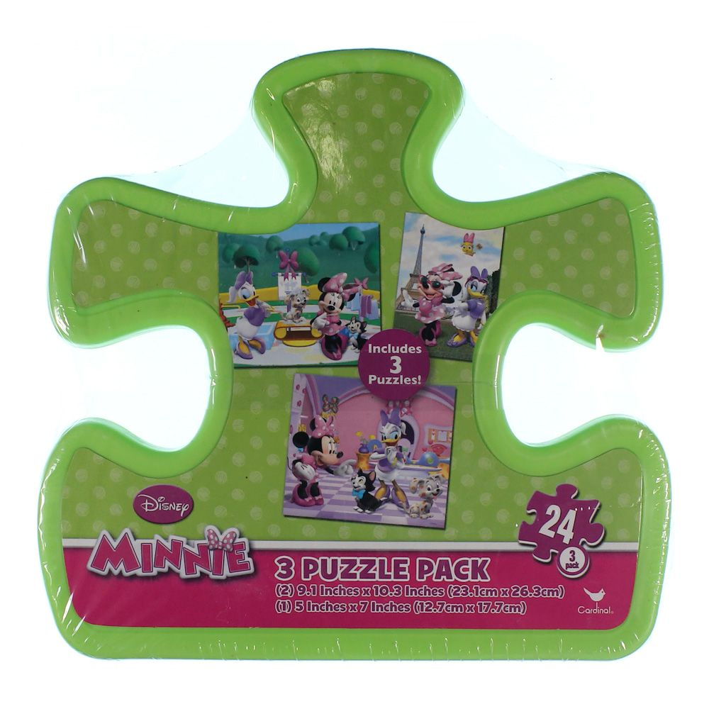 Minnie 3 Puzzle Pack 7378527892