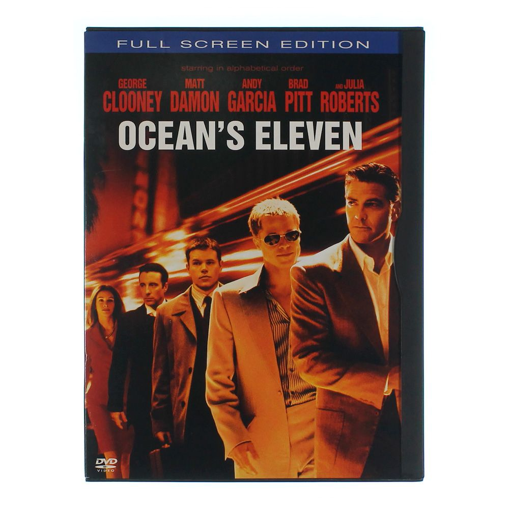 Movie: Ocean's Eleven (Full Screen Edition) 7379624578
