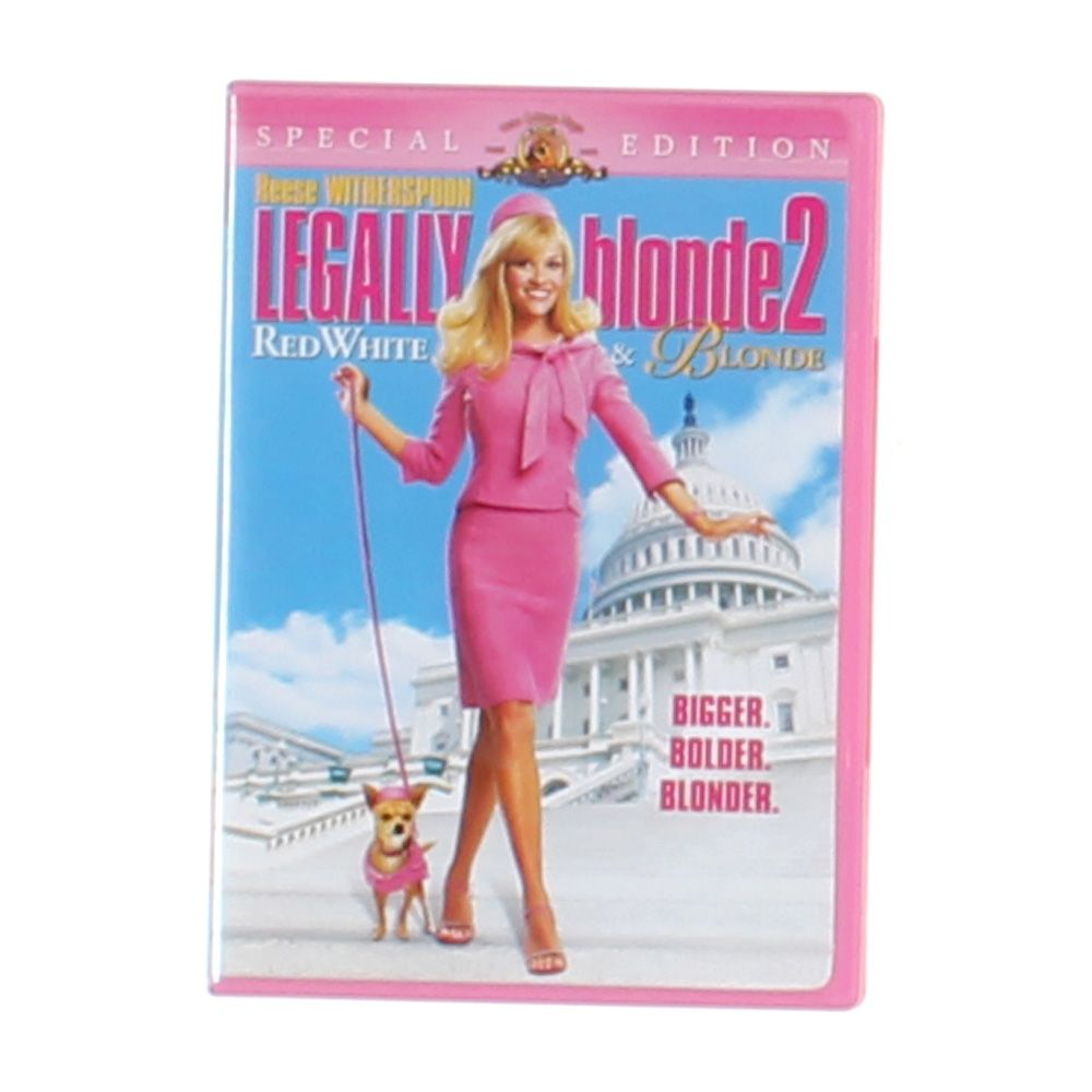 """""Movie: Legally Blonde 2 - Red, White & Blonde (Special Edition)"""""" 7383401458"