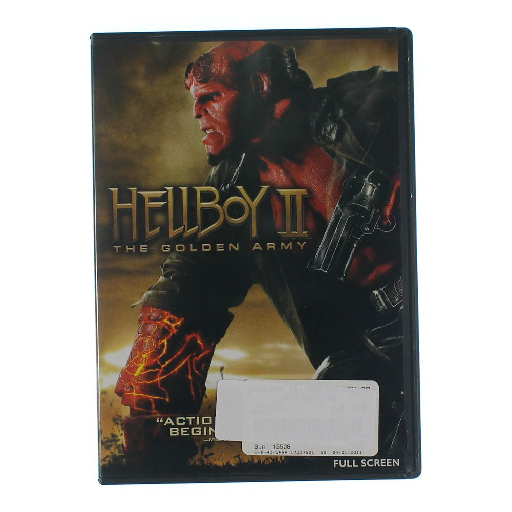 Movie: Hellboy II: The Golden Army (Full Screen Edition) 7417308717