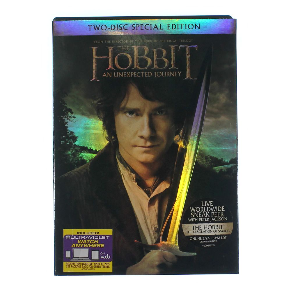 Movie: The Hobbit: An Unexpected Journey (Special Edition) (DVD + Digital Copy With UltraViolet) 7425134625