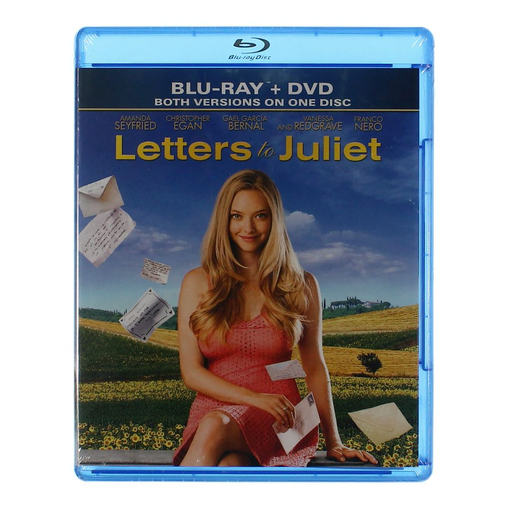 Movie: Letters To Juliet [Blu-ray + DVD] 7425561611
