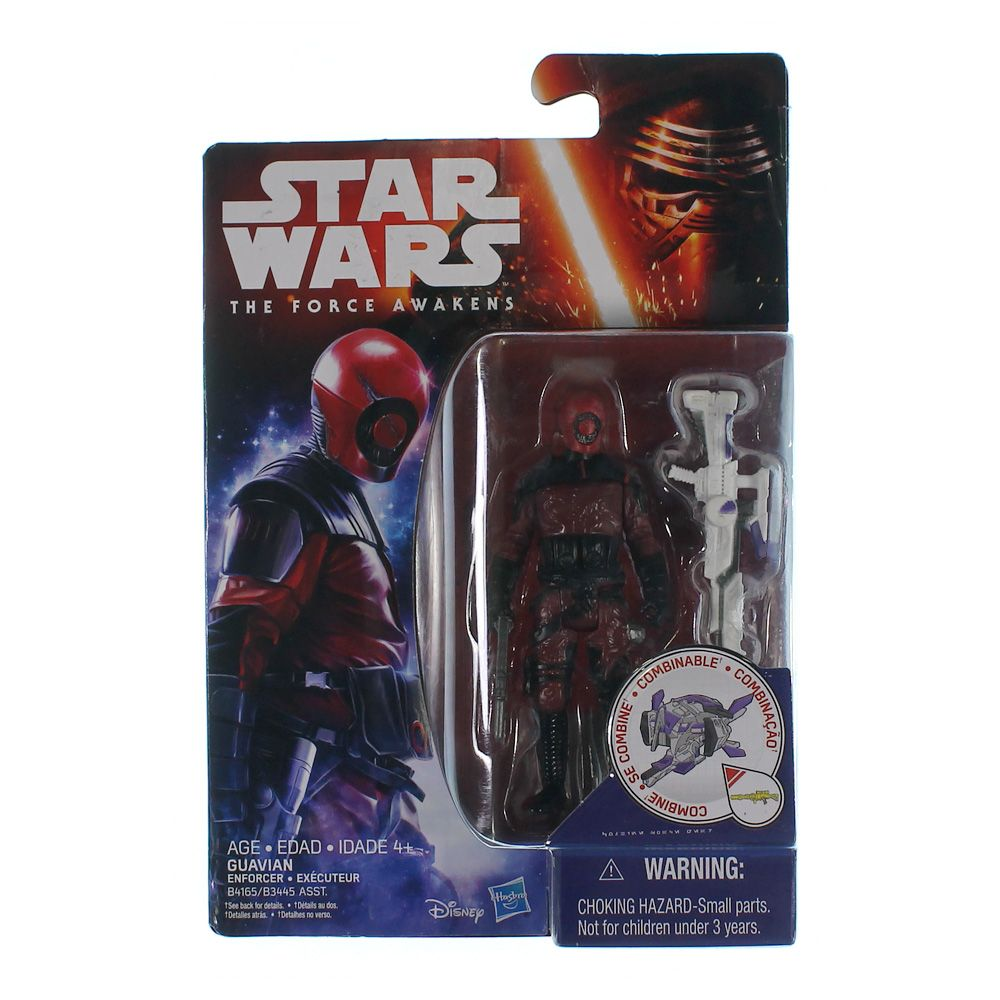 """""Star Wars The Force Awakens 3.75"""""""" Space Mission Guavian Enforcer Figure"""""" 7430895704"