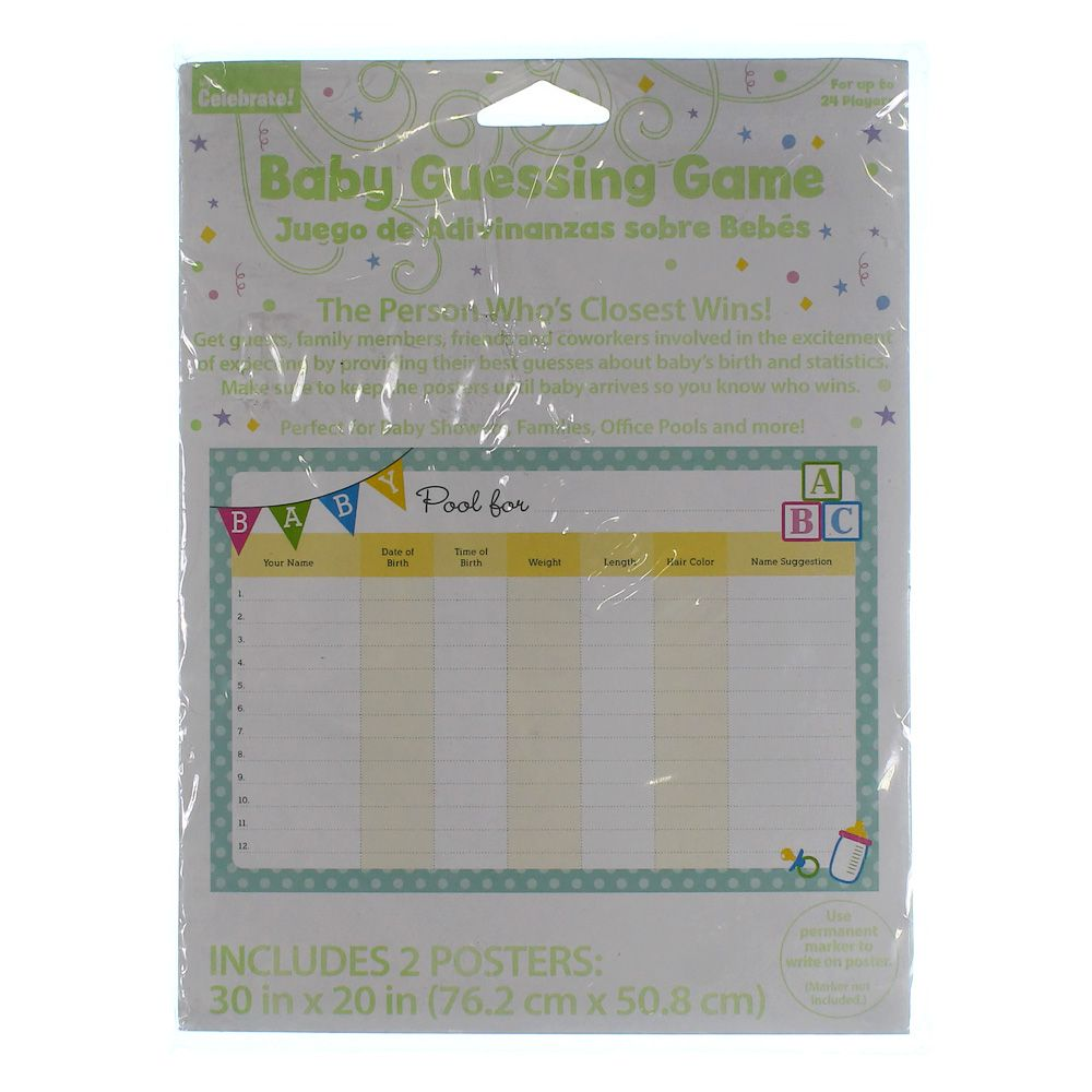 Image of Baby Guessing Game