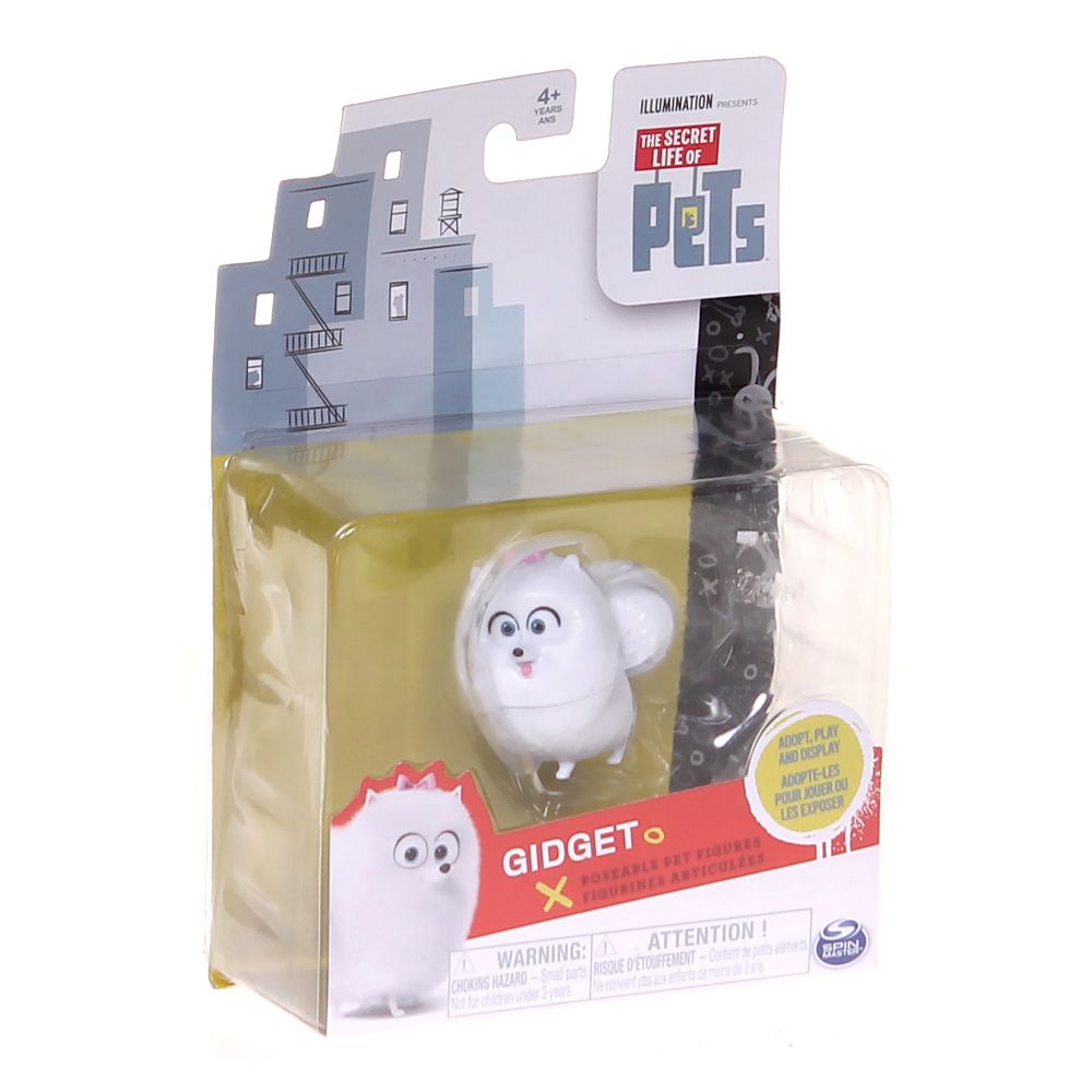 The Secret Life of Pets Gidget Poseable Pet Figure 7434566538