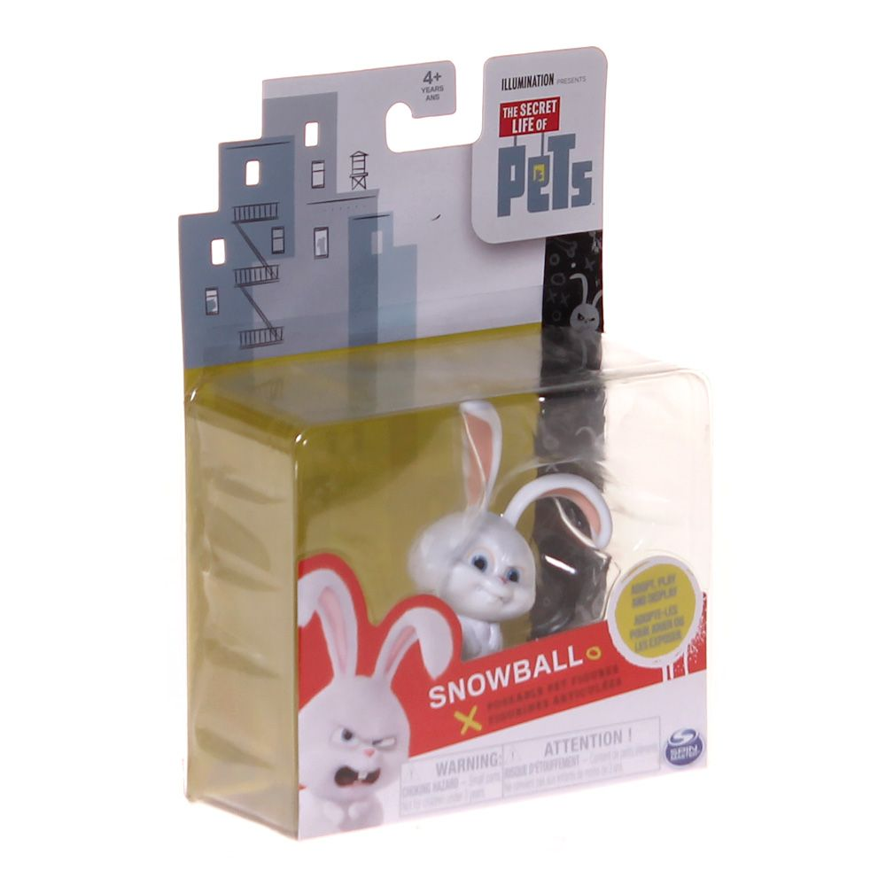 The Secret Life of Pets Poseable Figure - Snowball 7435295171