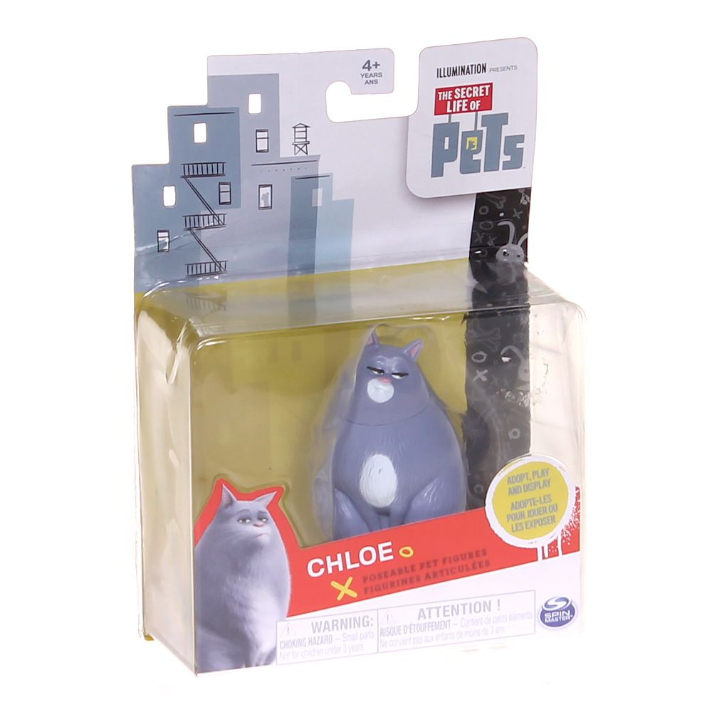 Game: The Secret Life of Pets Poseable Figure - Chloe 7438378267