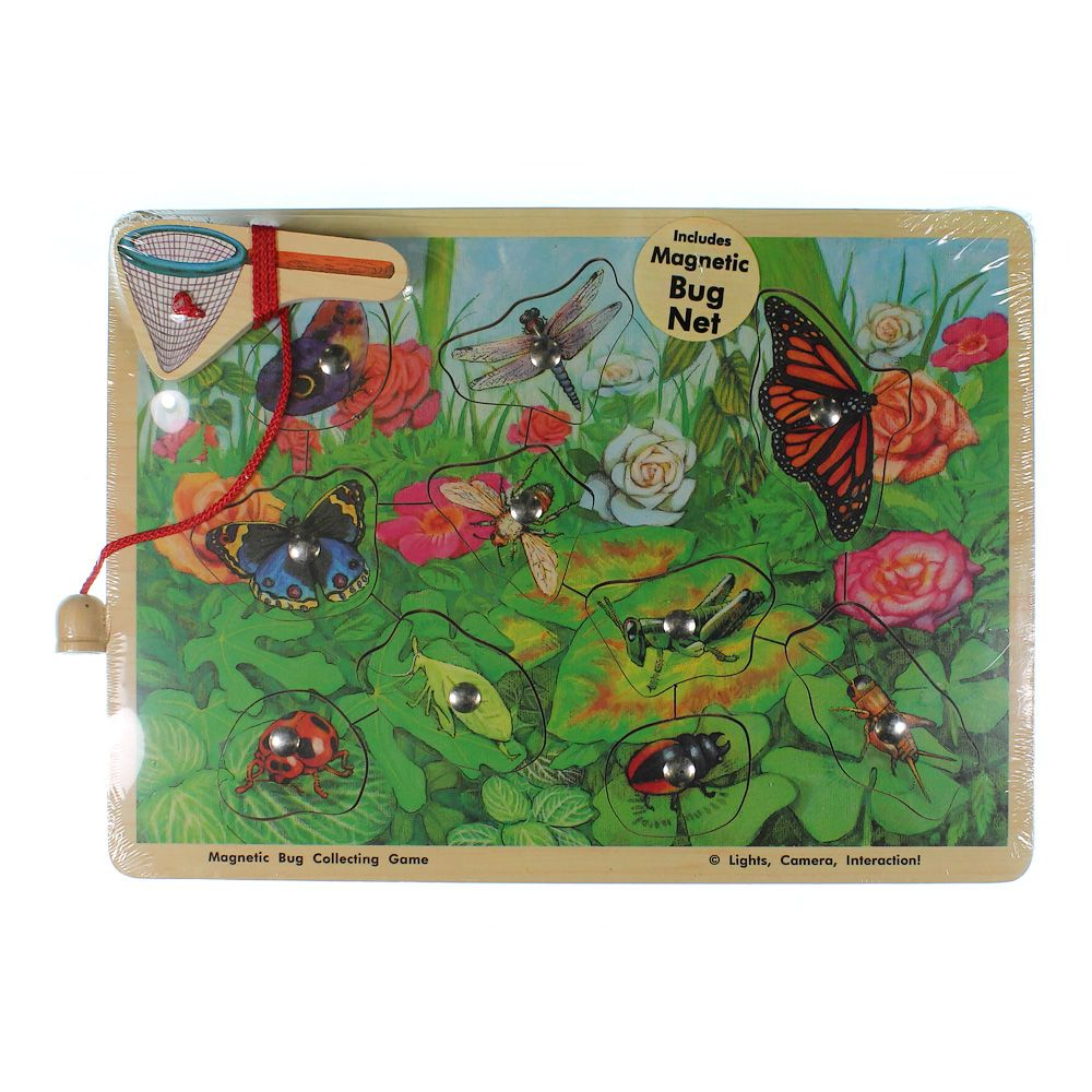 Melissa & Doug Magnetic Bug Collection Puzzle 7439862108