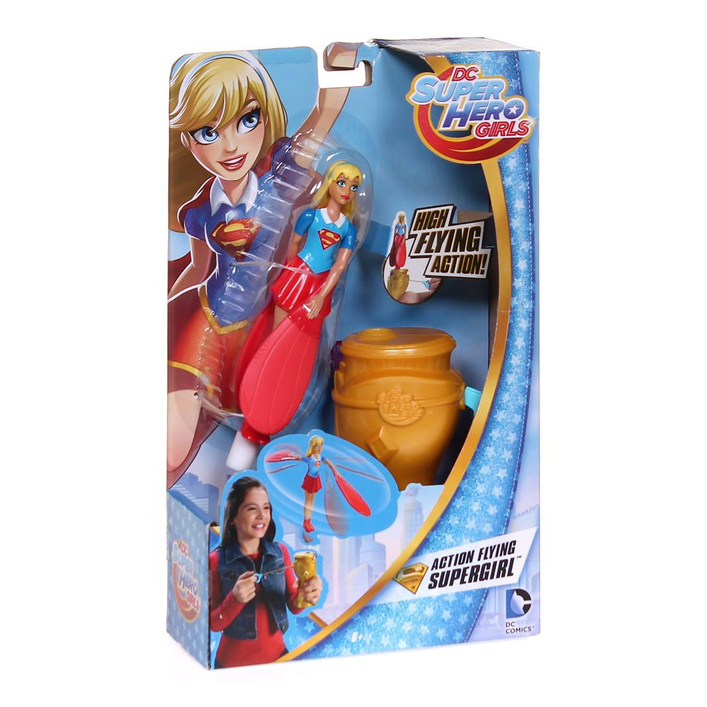 DC Comics Super Hero Girls 6 inch Action Doll - Flying Super Girl 7443217590