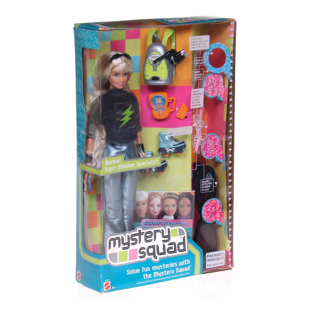 Image of Barbie Mystery Squad