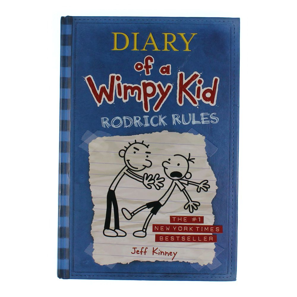 Book: Diary of a Wimpy Kid Rodrick Rules 7457387673