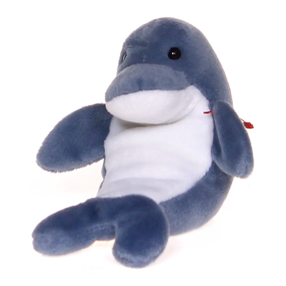 Image of Beanie Baby Dolphin