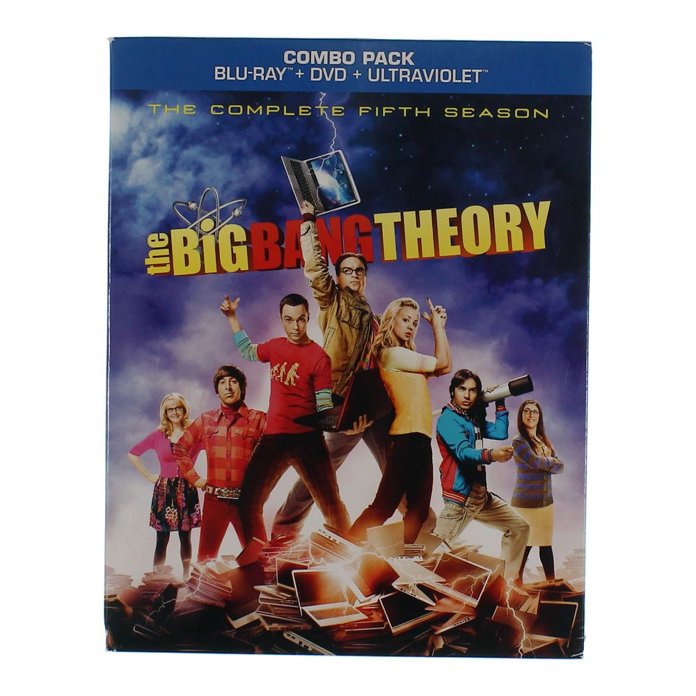 TV-series: The Big Bang Theory: The Complete Fifth Season (Blu-ray+DVD+Ultraviolet Digital Copy) 7458347079