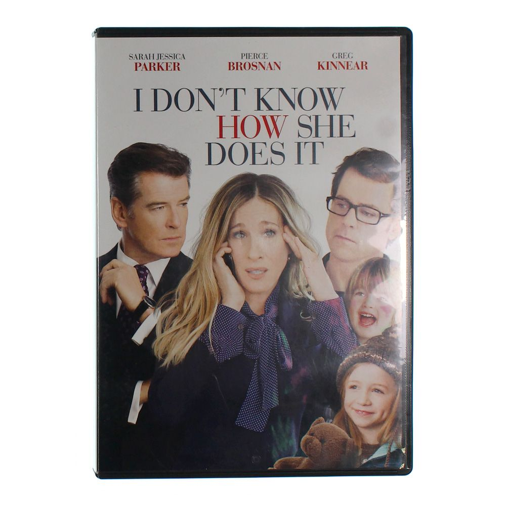 DVD: I Don't Know How She Does It 7472527802