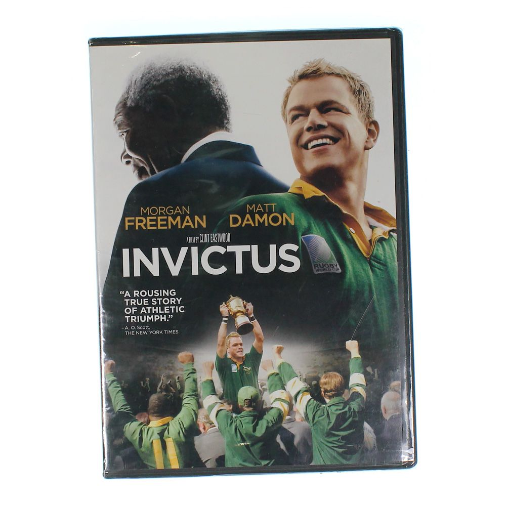 Movie: Invictus [DVD] [Eng/Fre/Spa] [2009] 7474203234