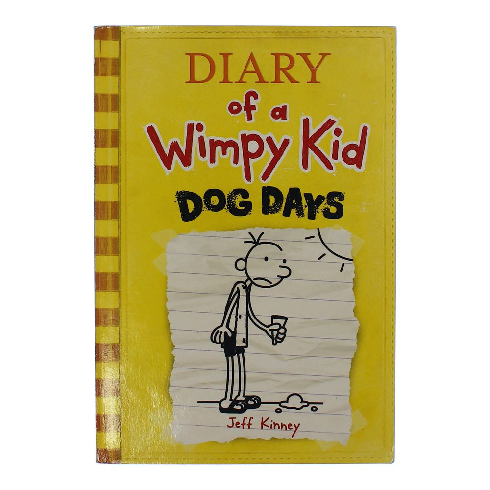 Book: Diary Of A Whimpy Kid Dog Days 7489794285