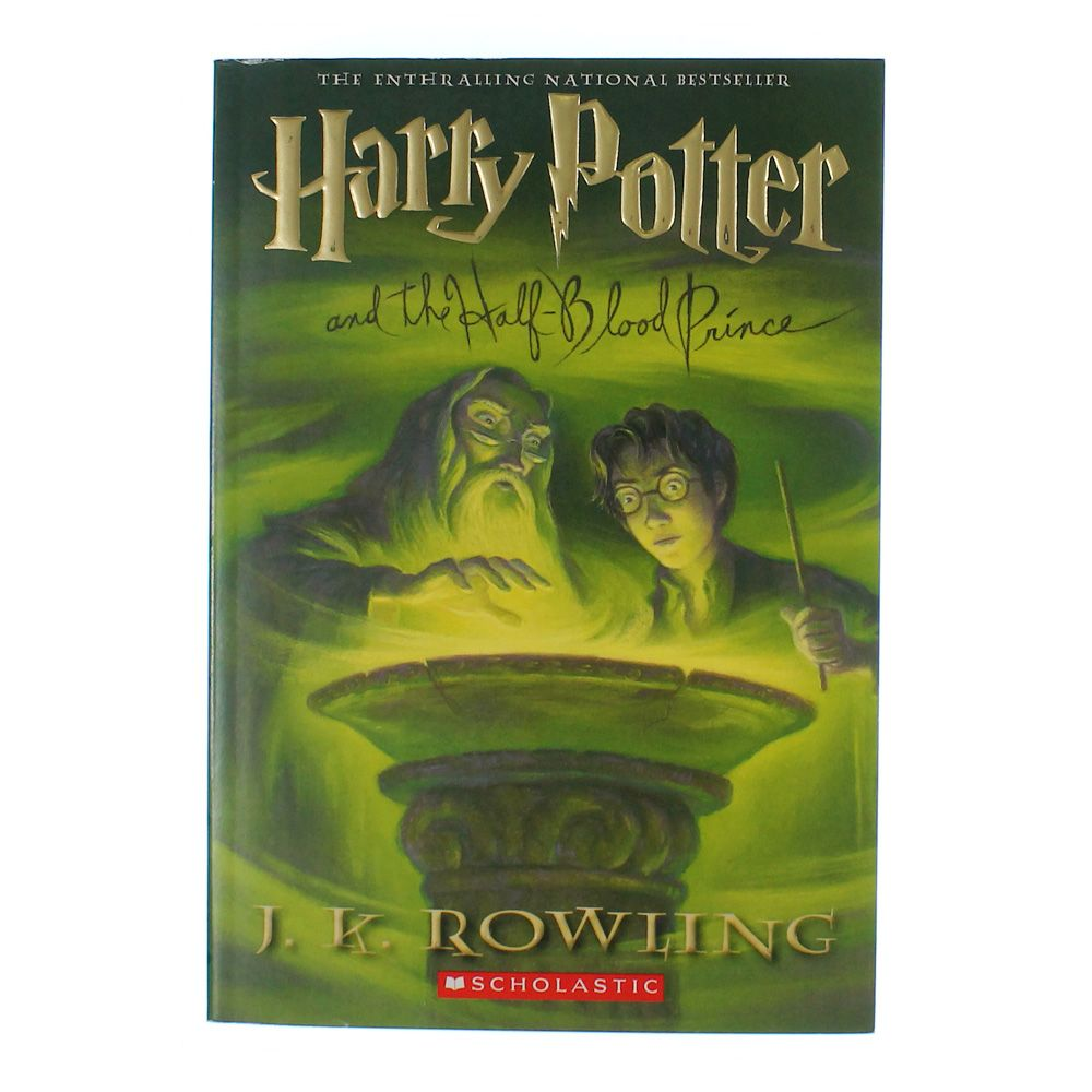 Harry Potter And The Half-Blood Prince Book 7492864877