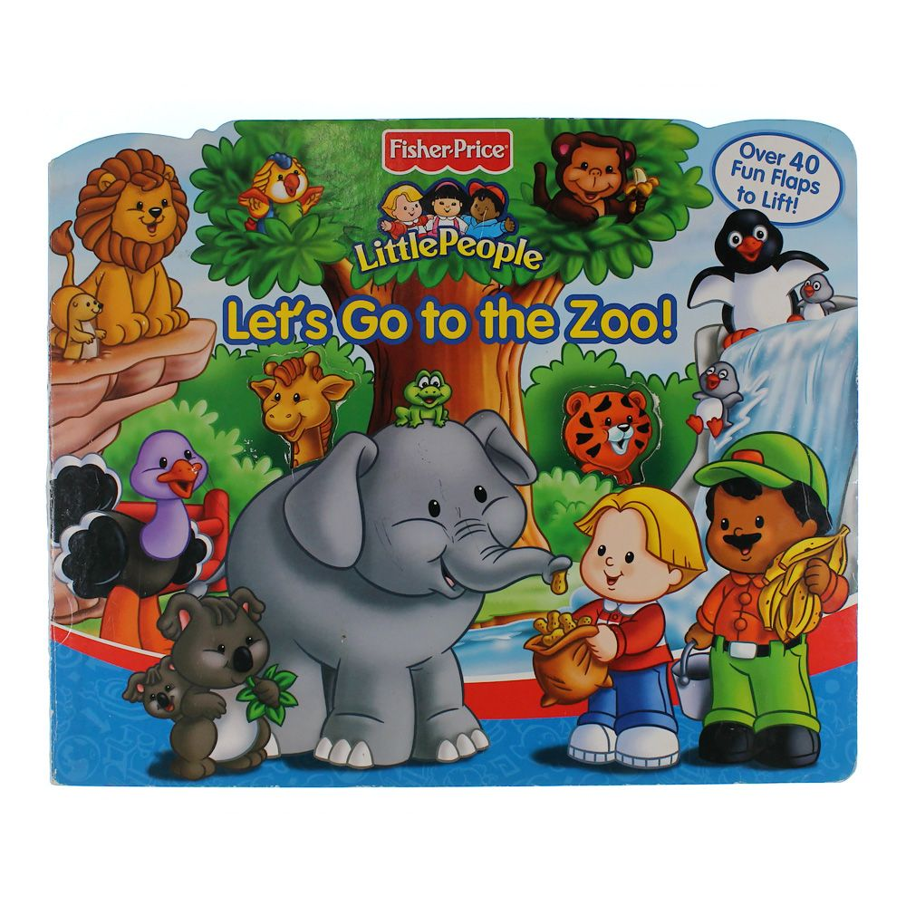 Book: Let's Go To the Zoo! 7495314485