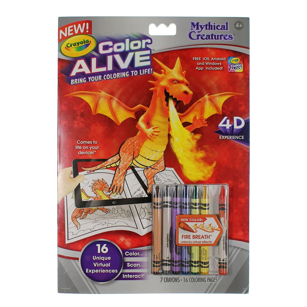 Mythical Creatures Color Alive 7505449417