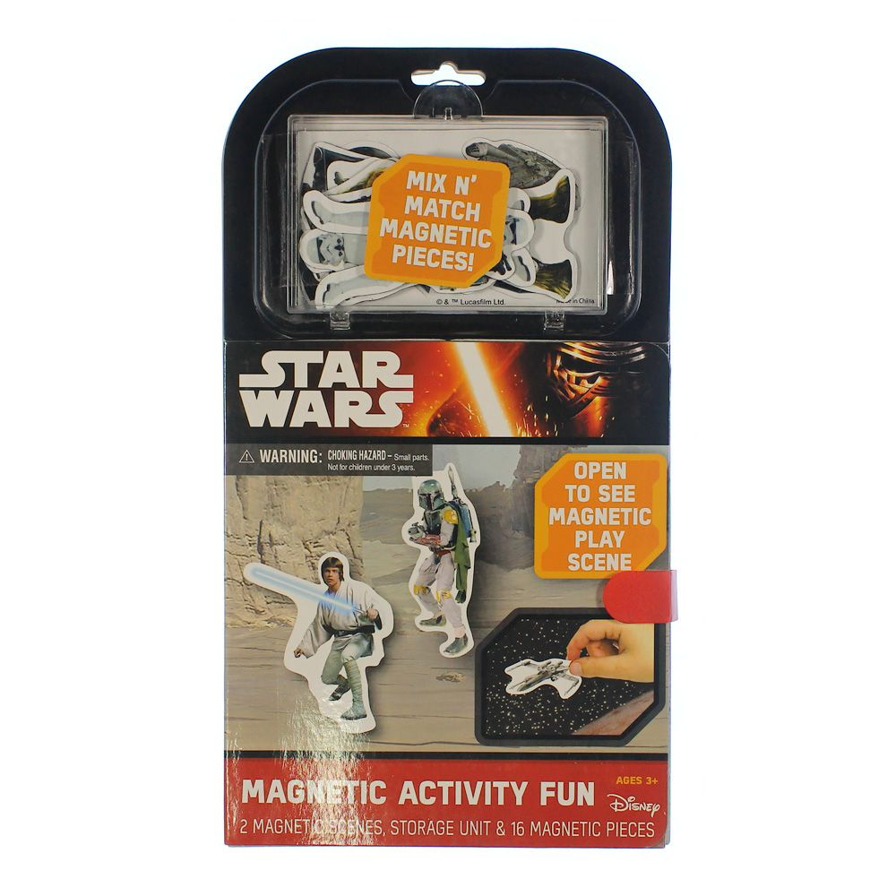 Star Wars Magnetic Activity Fun 7507505670