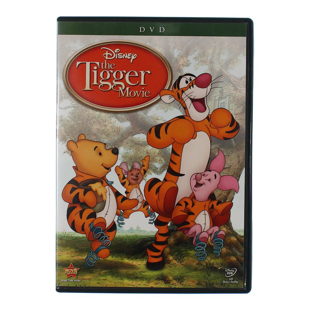 Movie: The Tigger Movie: Bounce-A-Rrrific Special Edition 7509131434